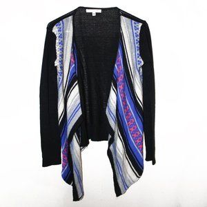 Southwestern Knit Open Cardigan - Say What